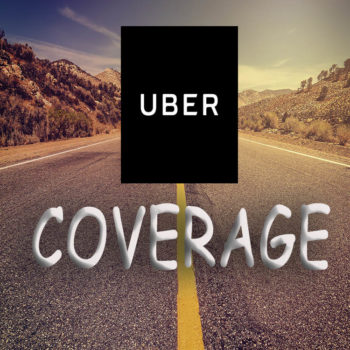 Uber coverage around the world