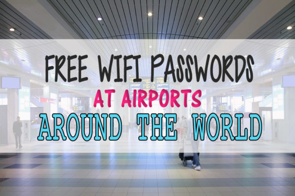 free wifi airports around the world