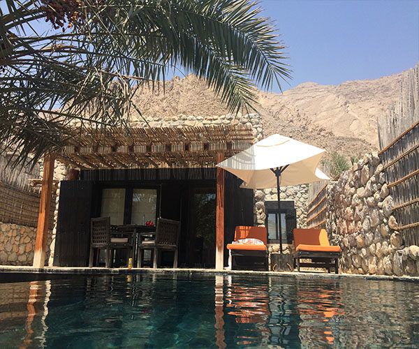 six senses zighy bay pool villa