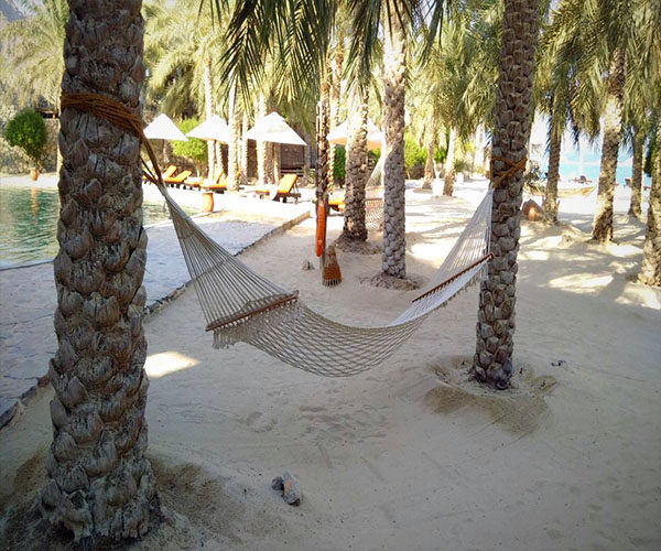 six senses zighy bay hammock