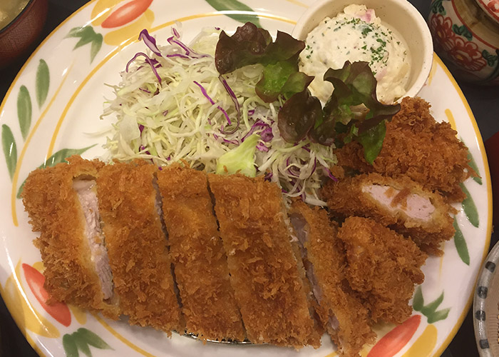 What to Eat in Japan (no Fish and Seafood) Tonkatsu