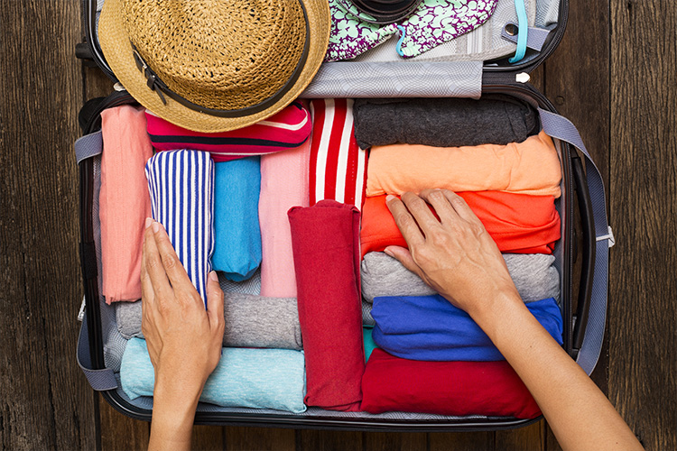 How to pack for long-term travel